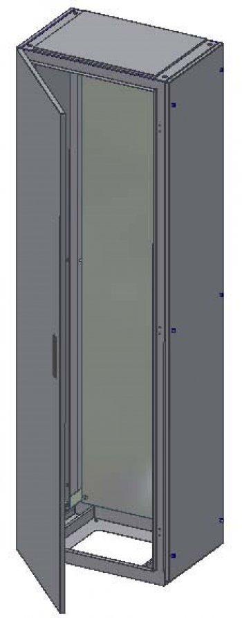 Rozváděčová skříň 1400x400x1000 IP54