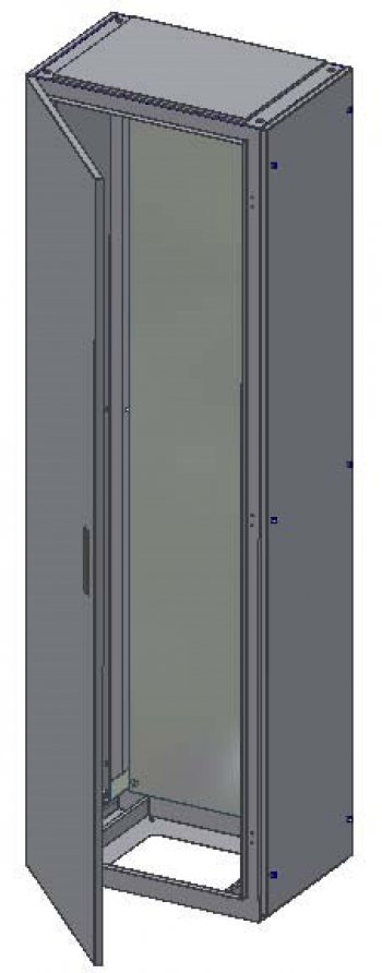 Rozváděčová skříň 1400x1000x700 IP54